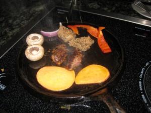 grilling fondue meat
