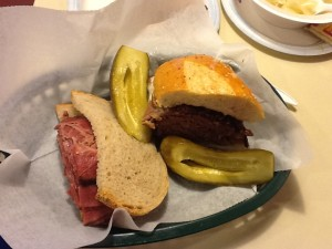 brisket and pastrami at kensington