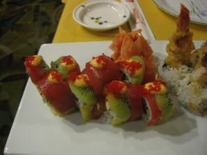 chilean sea bass sushi at daruma