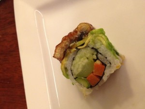 dragon roll at chez kama great neck