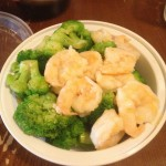 shrimp and broccoli steamed