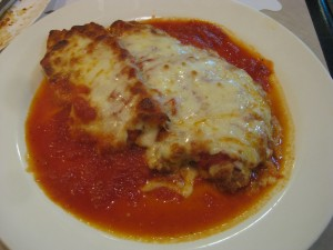 chicken parm at gino's
