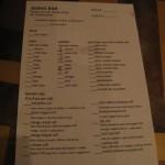 all you can eat menu 1 at era asian cuisine