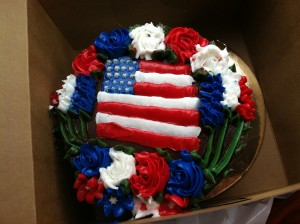 bruce's fourth of july cake