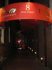 ouside of elaine's great neck restaurant
