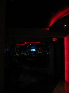 elaine's bar area