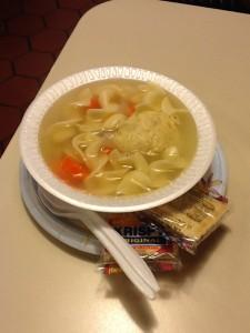 matzo ball soup at kensington deli